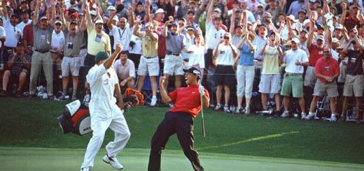 Tiger Woods at the 2005 Masters, image: golfwrx.com