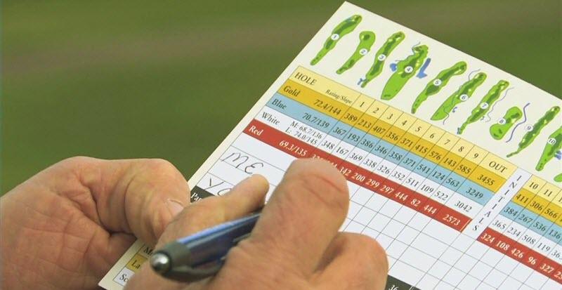 Golf Scorecard, image: nextgengolf.org