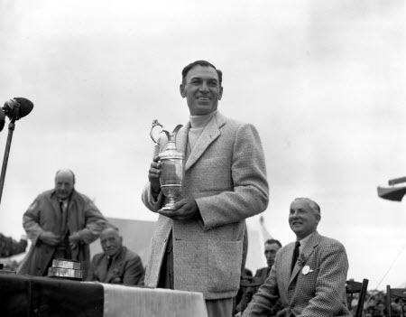 Ben Hogan wins the 1953 British Open, image: golfweek.com