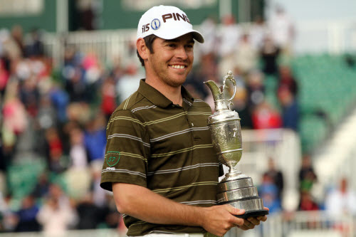 Louis Oosthuizen Wins 2010 British Open, image: chicago.cbslocal.com