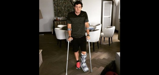 Rory McIlroy Injures Ankle