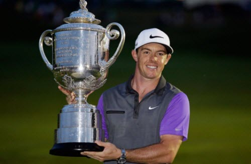 Rory McIlroy Wins the 2014 PGA Championship, image: cbc.ca