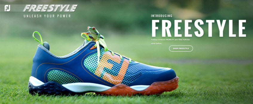 All New FootJoy FreeStyle Golf Shoes