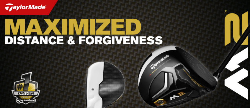 All New TaylorMade M2 Driver