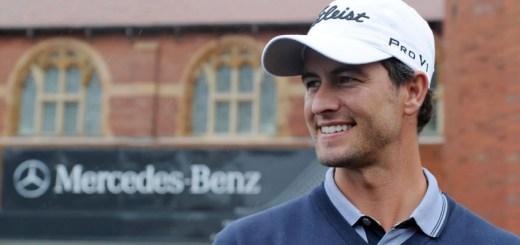 Adam Scott, image: emercedesbenz.com