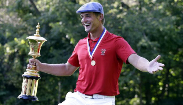 Bryson DeChambeau at SMU, image: dallasnews.com