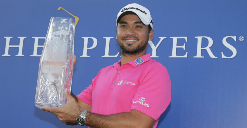 Jason Day Wins the 2016 PLAYERS Championship, image: bostonherald.com