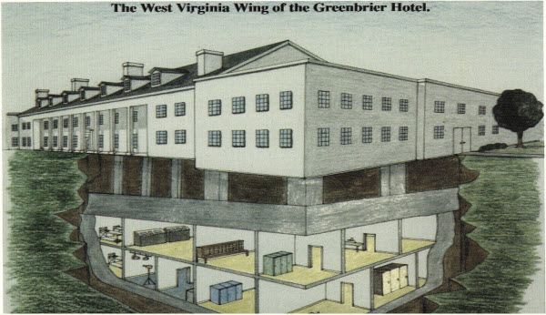 The West Virginia Wing Bunker at the Greenbrier, image: foxsports.com