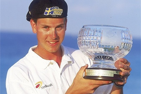 Henrik Stenson Wins on the Challenge Tour in 2000, image: europeantour.com