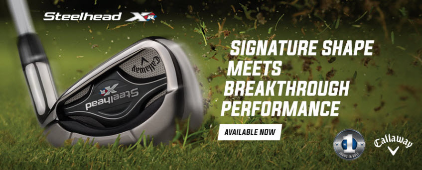 New Product Launch Callaway Steelhead Xr Irons Golfballscom Blog