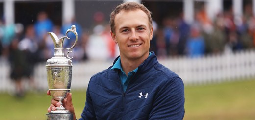Jordan Spieth Wins The Claret Jug, image: golfchannel.com