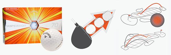 Callaway Superhot 70 Golf Balls, image: callawaygolf.com