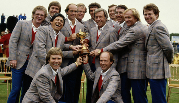 1981 U.S. Ryder Cup Team, image: edition.cnn.com