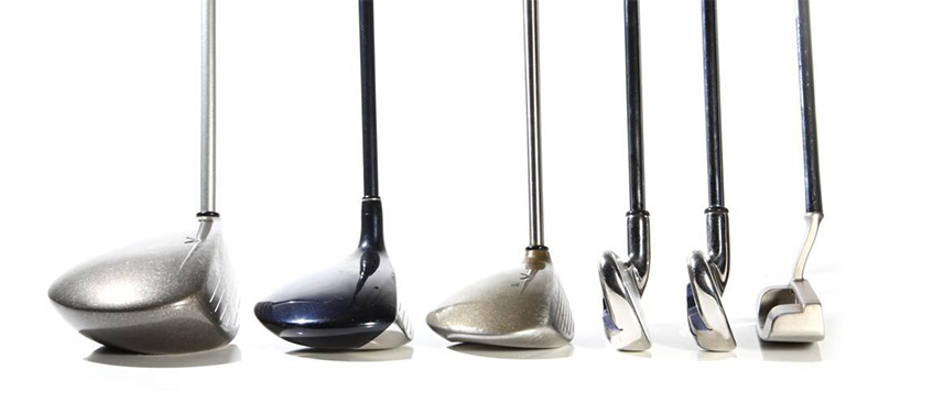 The Different Types of Golf Clubs, image: usagolfindex.com