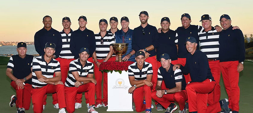 U.S. Team Wins 2017 Presidents Cup, image: presidentscup.com