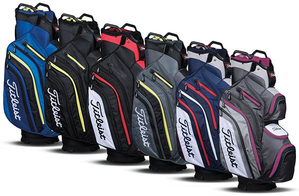 Titleist Deluxe Cart Bag, image: golfballs.com