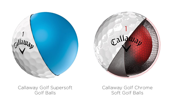 Callaway Golf Two-Piece and Multi-Layer Golf Balls, image: callawaygolf.com
