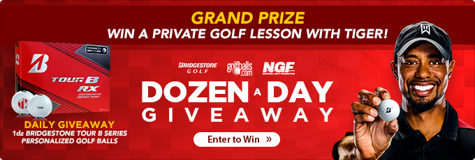 Tiger Woods Bridgestone Dozen-a-Day Sweepstakes