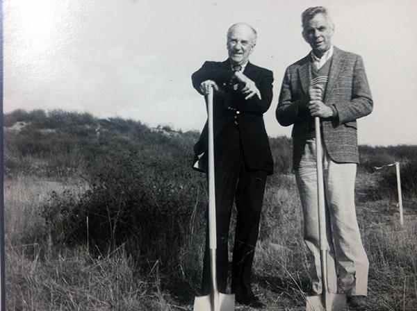 Ely Callaway and John Moramarco at the Start of Callaway Vineyards in Temecula, California, image: winebusiness.com
