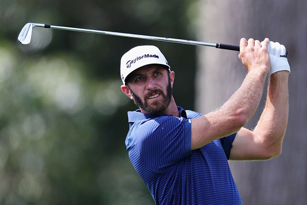 Dustin Johnson With His TaylorMade Irons, image: nationalclubgolfer.com