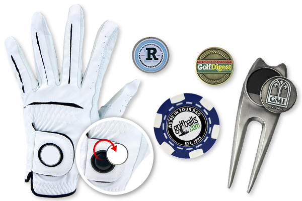 Find These Ball Marker Options and More at Golfballs.com