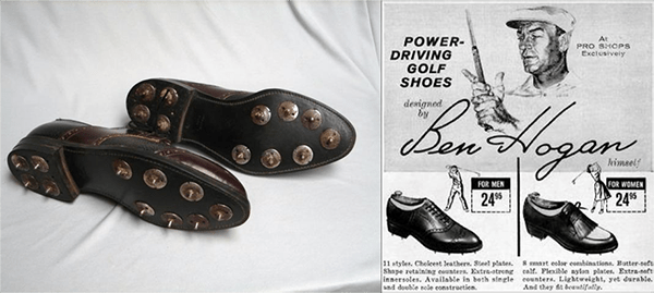 Hogan Power-Driving Golf Shoes Ad, image: persimmongolftoday.org