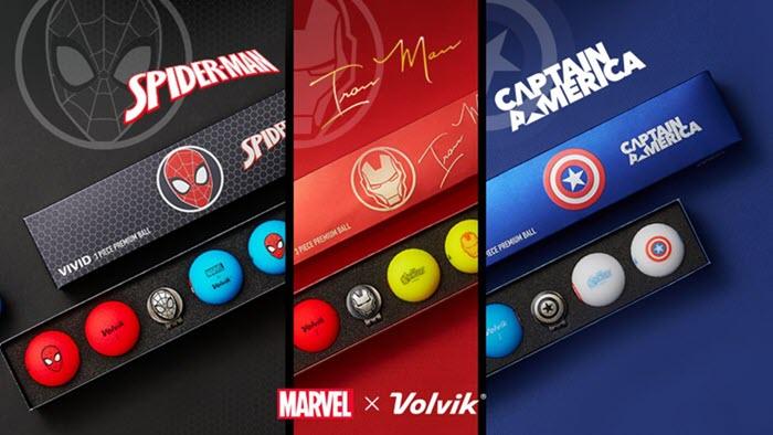 Volvik Vivid Marvel Golf Ball Sets, image: volvik.com