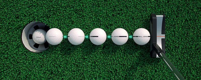 Personalized AlignXL Golf Balls