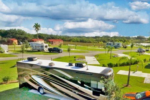 Birghton RV Resort - site layout