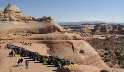 Shady Acres RV Park - off road jeeps in Canyonlands