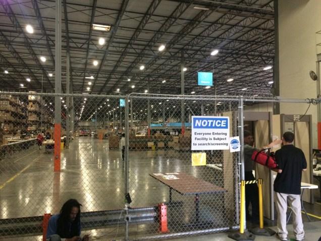 Newgistics Entrance