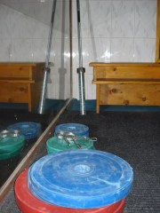 weights in Kabul basement