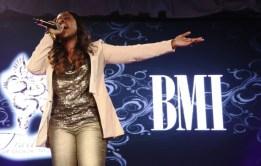 "Anyasha Figueroa sings ""Holy One""(Photo Credit: BMI)"