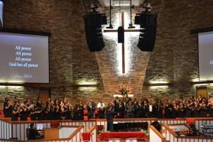 Temple Church Praise Choir in Action