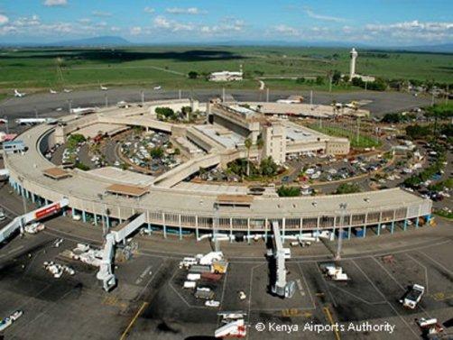 Flyplassen i Nairobi