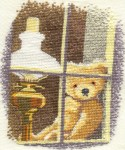 William in the Window - Heritage Stitchcraft
