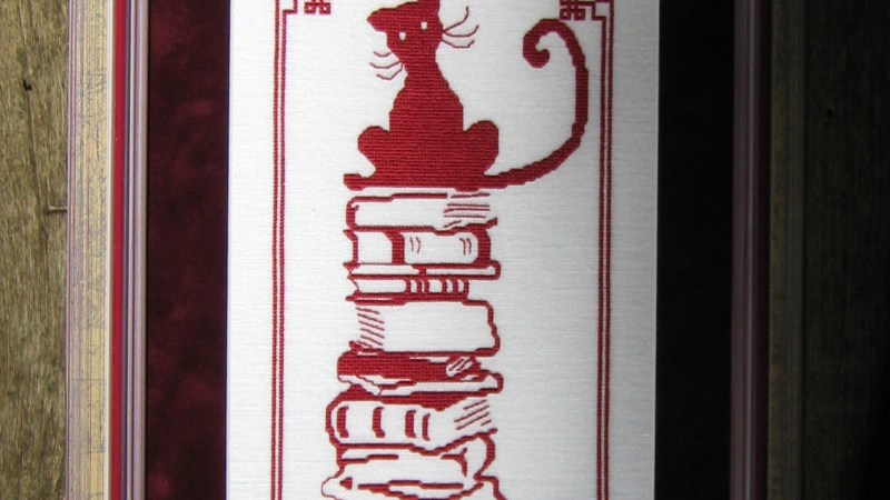 Livres Chat Rouge