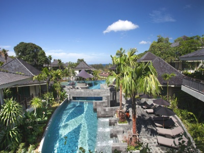 Overview of Mandarava Resort
