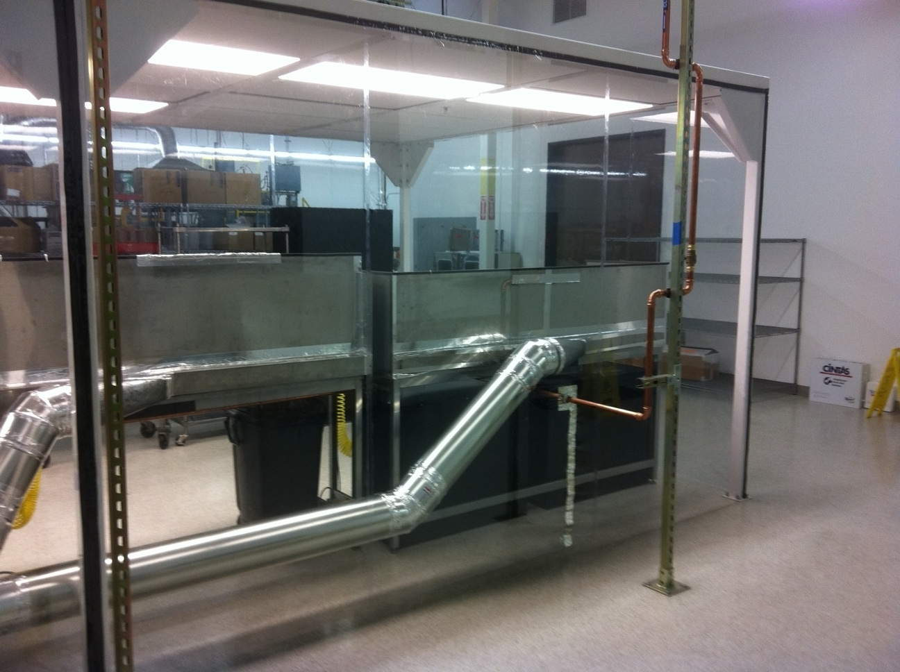 Softwall Cleanroom Enclosure