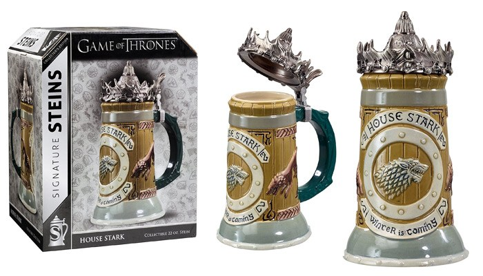 game of thrones gifts for him house of stark beer steins