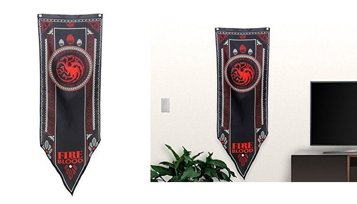 game of thrones gifts for him tagaryen tournament banner