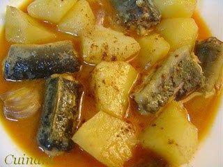 Alli i Pebre - danie z węgorzem - Albufera - Walencja - Hiszpania