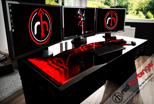 The Red Harbinger The Ultimate CAD Workstation GrabCAD