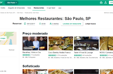 Marketing para bares e restaurantes com TripAdvisor
