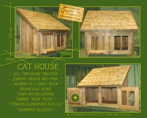 Granddad Rob's Cat House