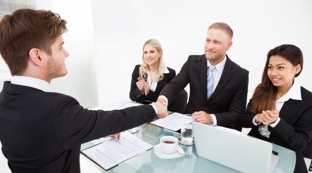 First impressions at an interview