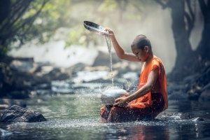 Budist Monk Boy