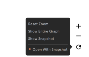 check option to open with graph snapshot