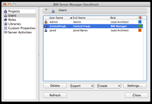 ArchiCAD BIM Server