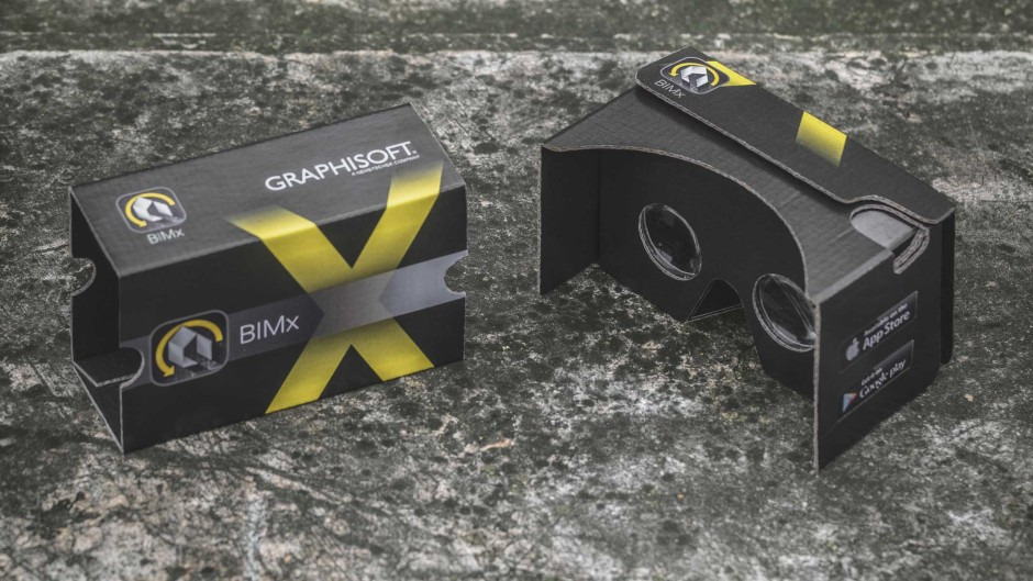 Go for VR with BIMx and Google Cardboard